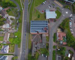 East Kilbride Chapel Drone Scotland