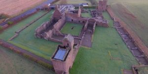 Crossraguel Abbey Drone Scotland