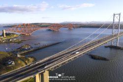 Forth Road Bridge by Drone Scotland