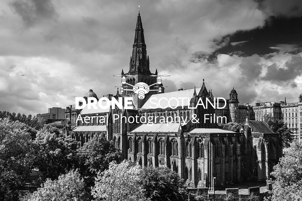 Glasgow Cathedral Image from a Drone 5
