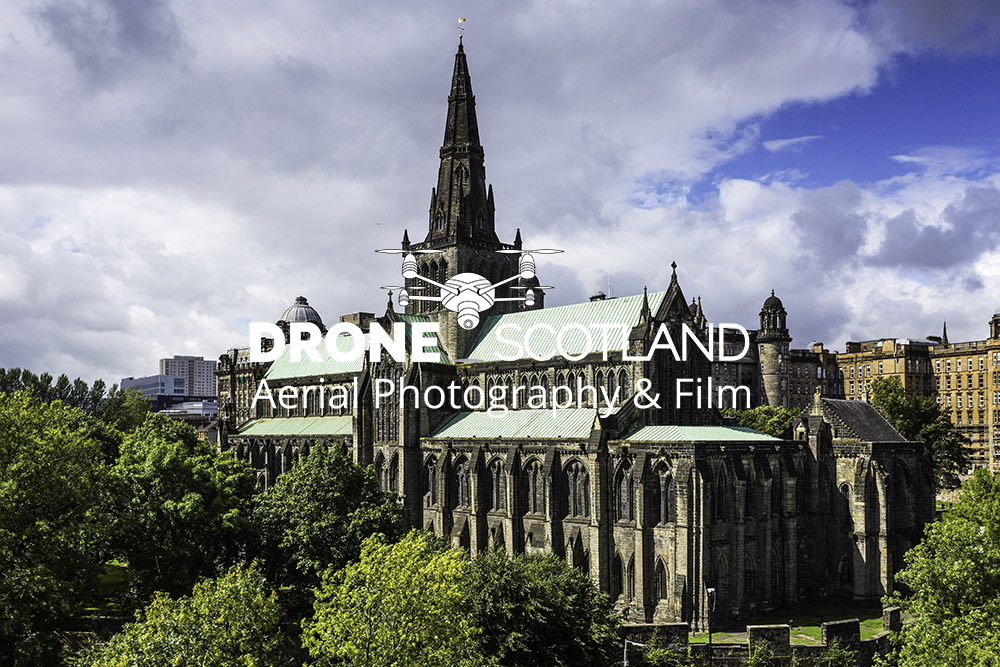 Glasgow Cathedral Image from a Drone 6