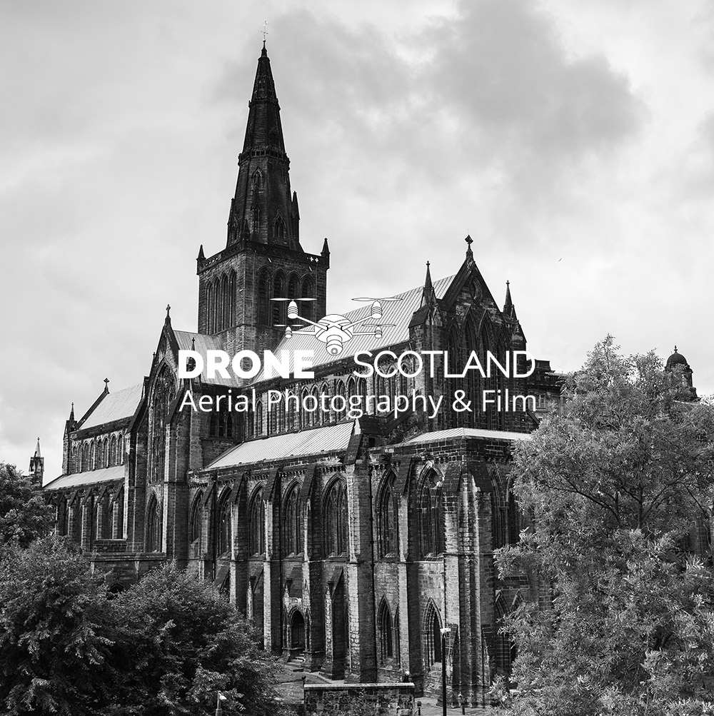 Glasgow Cathedral Image from a Drone 8