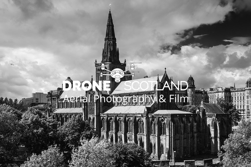 Glasgow Cathedral Image from a Drone 9