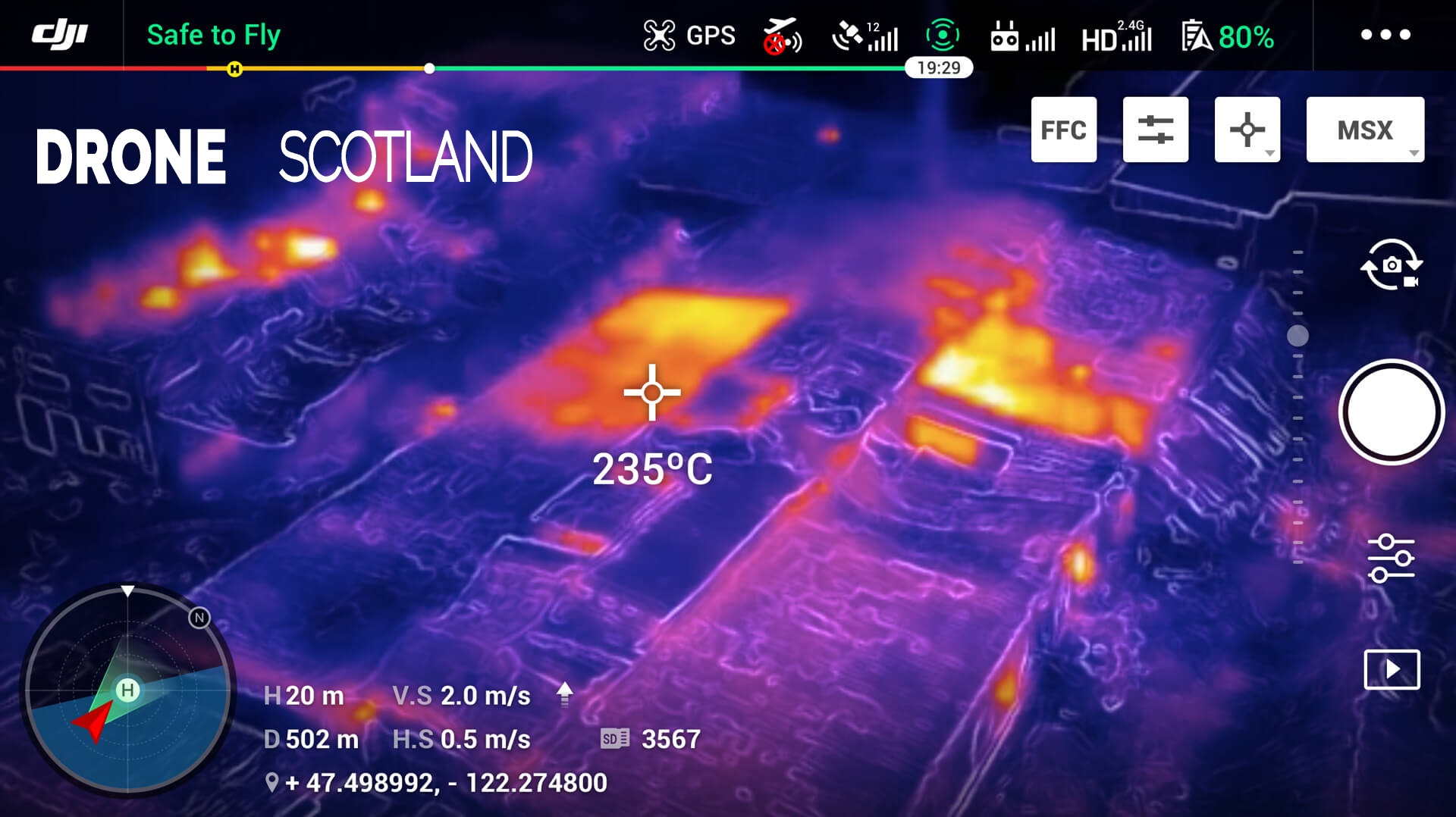 DJI Enterprise Dual Thermal Image