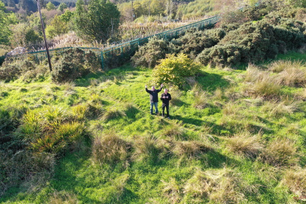 Drone filming Dunoon