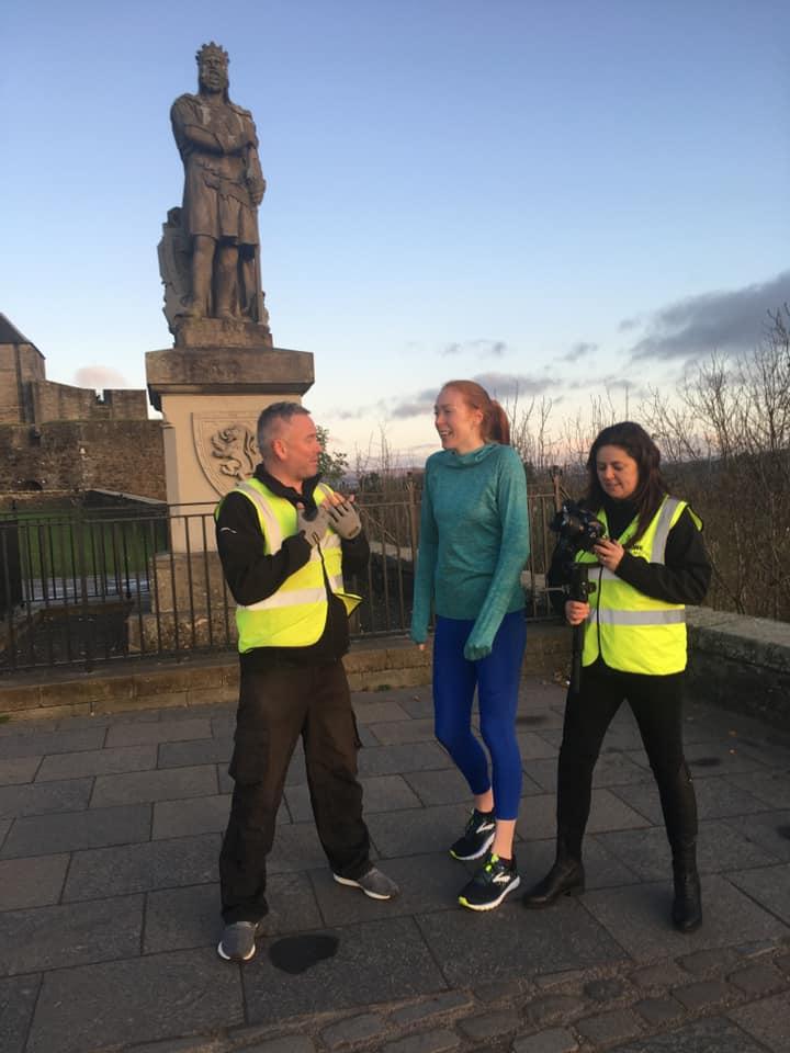 Jen Wetton at Stirling Castle