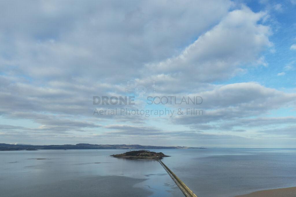 Crammon Island - Edinburgh Drone Photography